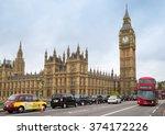 london   november 8  view of... | Shutterstock . vector #374172226