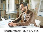 networking in office | Shutterstock . vector #374177515