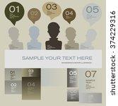 modern design template   can be ... | Shutterstock .eps vector #374229316