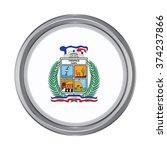 3d button flag of tarapaca... | Shutterstock .eps vector #374237866