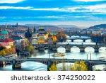 Prague  Charles Bridge And Old...