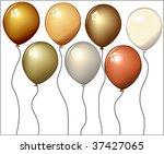 balloons | Shutterstock .eps vector #37427065