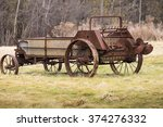 An Old Rusty Manure Spreader...