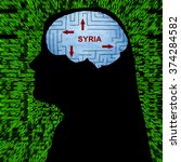 syria in mind | Shutterstock . vector #374284582