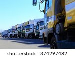 trucks   transportation | Shutterstock . vector #374297482