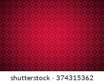 minimalistic red poker... | Shutterstock .eps vector #374315362