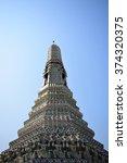 temple of dawn  wat arun ... | Shutterstock . vector #374320375
