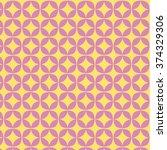 spring geometric circle pattern | Shutterstock .eps vector #374329306