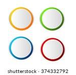 illustration of four different... | Shutterstock . vector #374332792