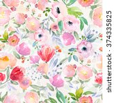 Watercolor Floral Botanical...
