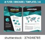flyer multipurpose design... | Shutterstock .eps vector #374348785
