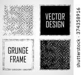 Set Of Squares . Vector Frames...
