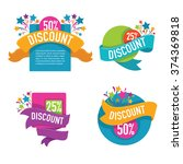 vector collection of bright...   Shutterstock .eps vector #374369818