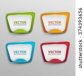 vector banners set. | Shutterstock .eps vector #374393656