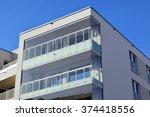 modern building   Shutterstock . vector #374418556