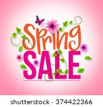Spring Sale Design With...