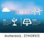 clean energy design    Shutterstock .eps vector #374428525
