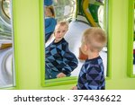 odessa  ukraine   oct 24  a boy ...   Shutterstock . vector #374436622