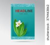 vector modern design a book...   Shutterstock .eps vector #374463862