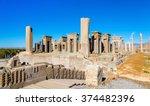 tachara palace of darius at...   Shutterstock . vector #374482396