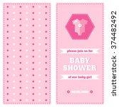 Baby Card Design Template. Bab...