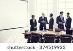 board room brainstorming... | Shutterstock . vector #374519932