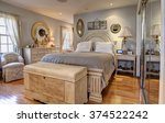 stylish classic furnished... | Shutterstock . vector #374522242