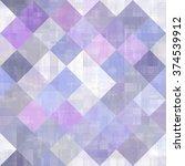 seamless bright abstract mosaic ...   Shutterstock . vector #374539912
