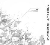 network technology... | Shutterstock .eps vector #374615872