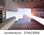 commercial building | Shutterstock . vector #374623906