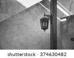 decorative arabic vintage... | Shutterstock . vector #374630482