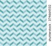 vector seamless geometric... | Shutterstock .eps vector #374664532