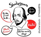 Shakespeare Portrait With...
