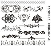 set of patterns | Shutterstock .eps vector #37468711