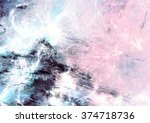 abstract sky with shiny color... | Shutterstock . vector #374718736