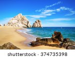 the beauty of  mexico   baja... | Shutterstock . vector #374735398