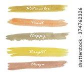 light brown yellow orange love... | Shutterstock .eps vector #374762326