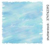 light blue love pastel... | Shutterstock .eps vector #374762392