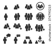 people icon | Shutterstock .eps vector #374795215