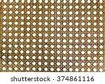 Rattan Basketry Pattern