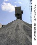 the asphalt mixing plant.... | Shutterstock . vector #374889712