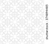 geometric linear pattern ... | Shutterstock .eps vector #374894485