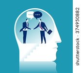 agreement. business concept... | Shutterstock .eps vector #374950882