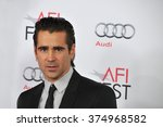 "Small photo of LOS ANGELES, CA - NOVEMBER 7, 2013: Colin Farrell at the premiere of his movie ""Saving Mr Banks"" at the TCL Chinese Theatre, Hollywood. Picture: Paul Smith / Featureflash"