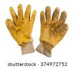 Used Pair Of Gardening Yellow...