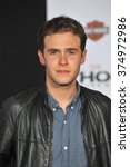 """Small photo of LOS ANGELES, CA - NOVEMBER 4, 2013: Iain De Caestecker at the US premiere of """"Thor: The Dark World"""" at the El Capitan Theatre, Hollywood. Picture: Paul Smith / Featureflash"""