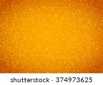 background with gold plates... | Shutterstock .eps vector #374973625