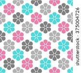 vintage floral pattern ...   Shutterstock .eps vector #375004726