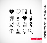 medical icons | Shutterstock .eps vector #375009832