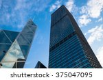 hong kong  china  1 january... | Shutterstock . vector #375047095